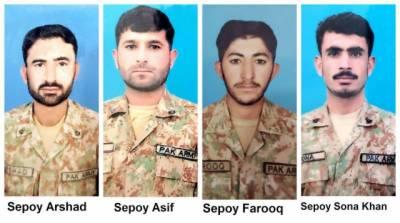 16 Pakistanis including 4 soldiers martyred in Skardu landslide