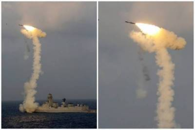 War hysteria: India test fired Naval version of the Brahmos Cruise Missile