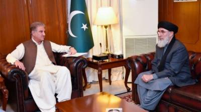 Afghan leader Gulbuddin Hekmatyar held important meeting with Pakistani FM SM Qureshi