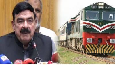 Sheikh Rashid announces to privatise multiple trains of Pakistan Railways