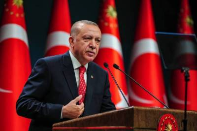 Turkish President Tayyip Erdogan calls for boycott of french products