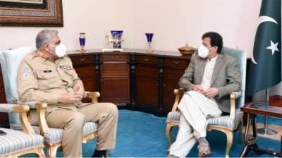 COAS General Qamar Bajwa held important meeting with PM Imran Khan