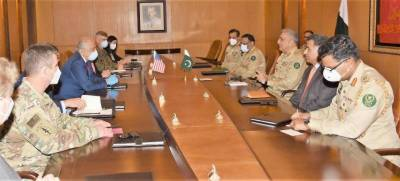 US top diplomat Zalmay Khalilzad held important meeting with COAS General Bajwa in GHQ