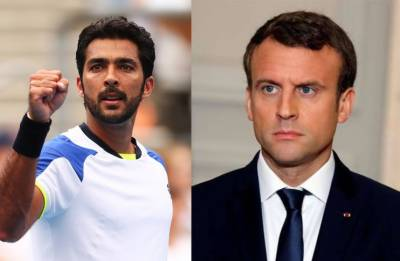 Pakistani tennis start Aisam ul Huq to protest against President Macron during Paris Tournament