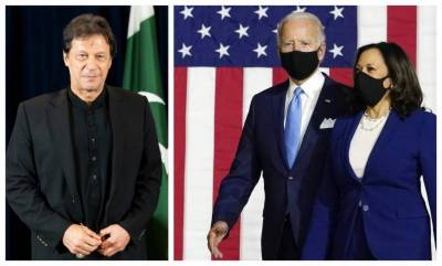 PM Imran Khan message for the President elect USA Joe Biden