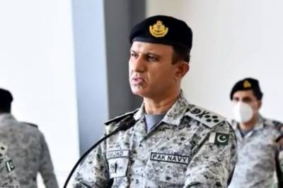 Pakistan Navy Chief vows coastal secuirty of CPEC