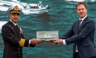 State of the Art new Naval Warship added in Pakistan Navy Fleet