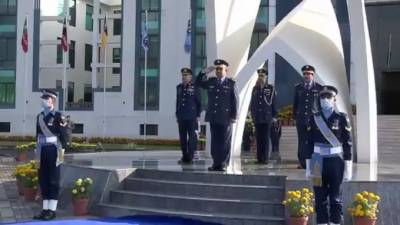 Commander Qatari Air Force impressed with the professionalism of Pakistan Air Force