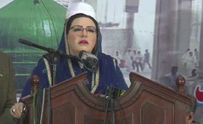 Punjab Information Advisor Firdous Ashiq Awan takes a dig at opposition over GB Elections
