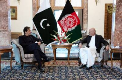 PM Imran Khan held one on one meeting with Afghan President Ashraf Ghani