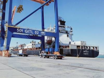 Pakistani Gwadar Port achieves yet another milestone