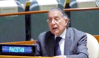 Pakistan Ambassador at UN Munir Akram important statement over Afghan peace process