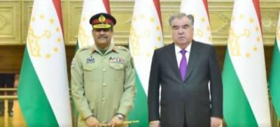 CJCSC General Nadeem Raza held important meetings with top civil and military leadership of Tajikistan