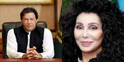 PM Imran Khan held meeting with renowned American singer Cher