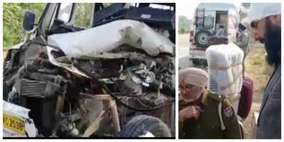 Pakistani High Commission official along with family injured in a car accident in India