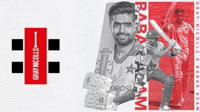 Gray Nicolls signing: Another feather in the cap of Pakistani skipper Babar Azam