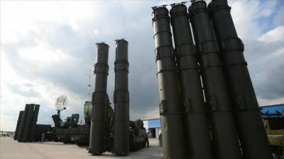 Russian S - 300 Missile Defence System deployed on disputed border