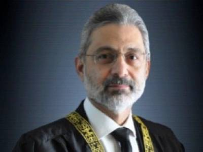 Justice Qazi Faiz Isa levels serious allegations against former CJP Justice Asif Saeed Khosa