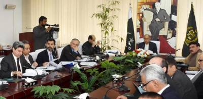 Finance Advisor Hafeez Sheikh chairs ECC meeting with 7 points agenda