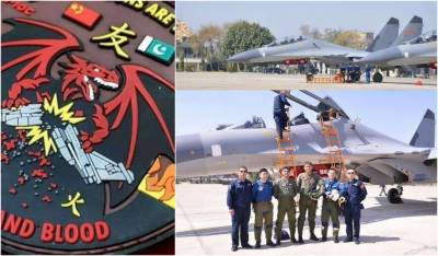 PAF and Chinese People's Liberation Army Air Force held joint exercise near Indian border