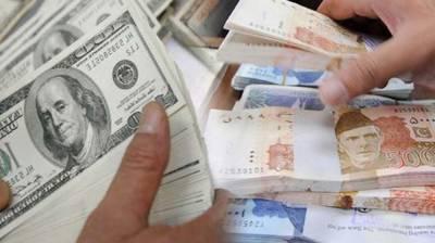 Pakistani Rupee list value against the US dollar in the interbank market