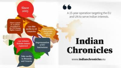 India's 5th Generation Information and Propaganda warfare against Pakistan exposed by International Agency