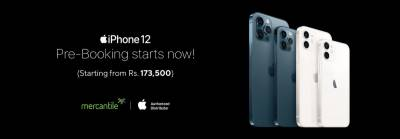 iPhone 12 release date unveiled in Pakistan