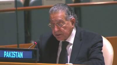 Pakistani Ambassador at UN responds over latest developments in the Afghanistan peace talks