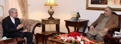 Pakistan and Iran vow to further enhance bilateral relations