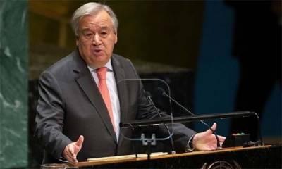 UN Chief appreciates Pakistani PM Imran Khan commitments