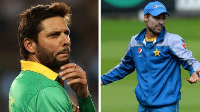 Shahid Afridi strongly reacts against the retirement of pacer Mohammad Amir
