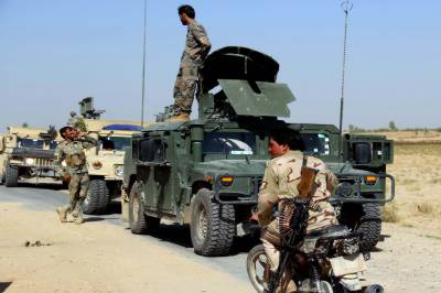 10 Afghan soldiers killed and injured in Taliban Attack