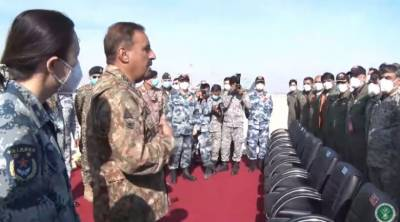 CJCSC General Nadeem Raza witnessed Pakistan Chinese Air Forces joint war games