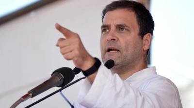 Opposition leader Rahul Gandhi lash out against Indian PM Modi over his failure