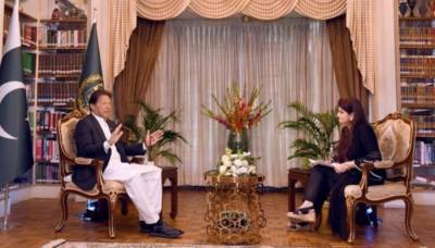 PM Imran Khan breaks silence over media reports of government link with Israel