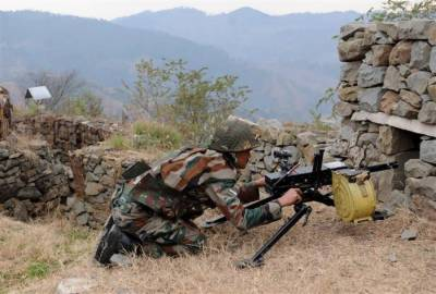 Indian Military fire at LoC martyred one and injured three others