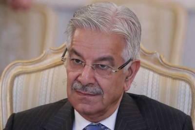 NAB arrests former federal minister Khawaja Asif