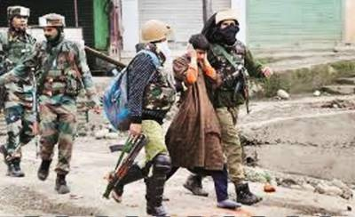 State Terrorism: Indian troops martyred three more Kashmiri youth in fake encounters in Srinagar