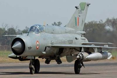 Indian Air Force another fighter jet crashed