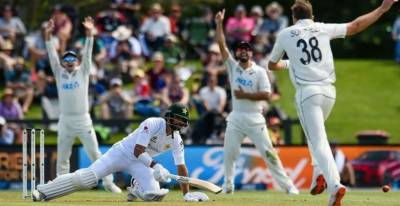 Pakistani team faces huge embarrassing defeat in 2nd Test against NZ