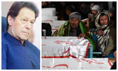 PM Imran Khan makes an appeal to the victims of the Macch attack in Balochistan