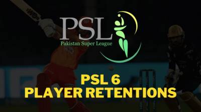 PSL - 6: Names of players retained by franchises for 2021 league