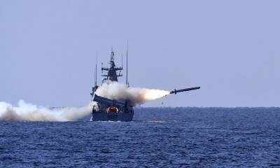 Pakistan Navy test fires missiles and torpedoes to demonstrate war fighting capabilities