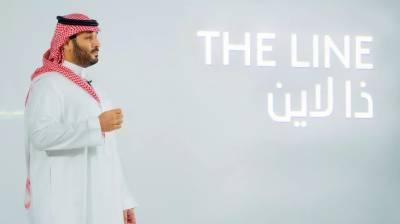 """Saudi Crown Prince MBS launches """"The Line"""" city in $500 billion NEOM project"""