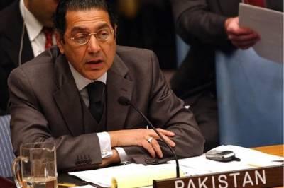 Pakistani Ambassador at UN Munir Akram raises key demand against India in the UN Security Council