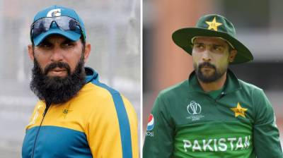 Pakistani pacer Mohammad Amir hits back hard against Misbah and Waqar duo