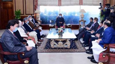 Pakistani PM Imran Khan sends positive message for Afghanistan government