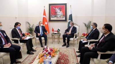 Turkish FM held important meeting with Pakistani counterpart