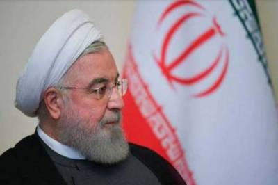Iranian President Hasan Rouhani strong reaction over departure of US President Donald Trump