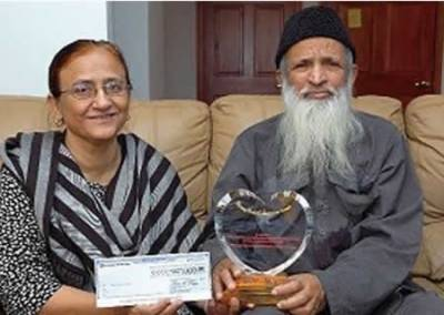 Bilqees Edhi nominated for the 'Person of the bi decadal award by UK based organisation